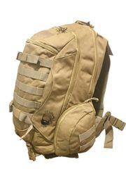 Tactical Military Backpack Bug Out Bag With Molle System (Camel)