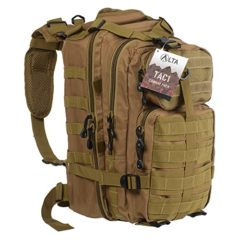 Military Tactical Large Army 3 Day Assault Pack MOLLE Outdoor Bug Out Bag Backpacks for Hiking Camping Hunting Trekking - Coyote
